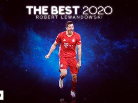 Lewandowski, vincitore del The Best. BeSoccer