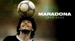 Maradona has sadly passed away. BeSoccer
