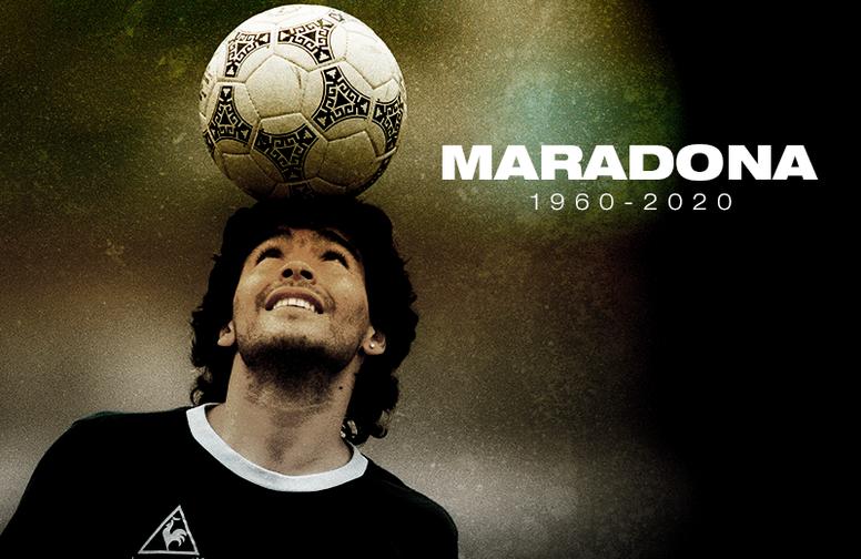 Falece Diego Armando Maradona. BeSoccer