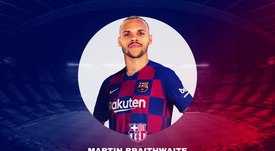 Martin Braithwaite, novo jogador do Barcelona. BeSoccer