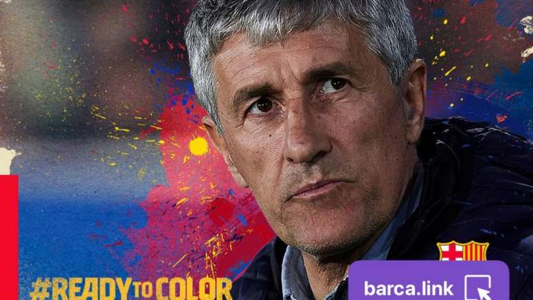 This is the plan for Setien's first day. FCBarcelona