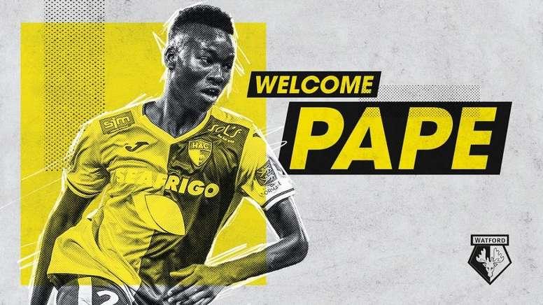 Rescindió su contrato con el Watford sin haberse incorporado siquiera. Twitter/WatfordFC