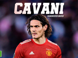 Cavani è un giocatore dello United. BeSoccer