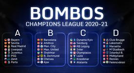 Estos son los 32 clasificados para la Champions League 20-21. BeSoccer
