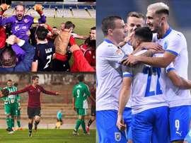 Los equipos más ganadores en el arranque liguero 20-21. Estrella Roja - CS U Craiova - Sparta Praha