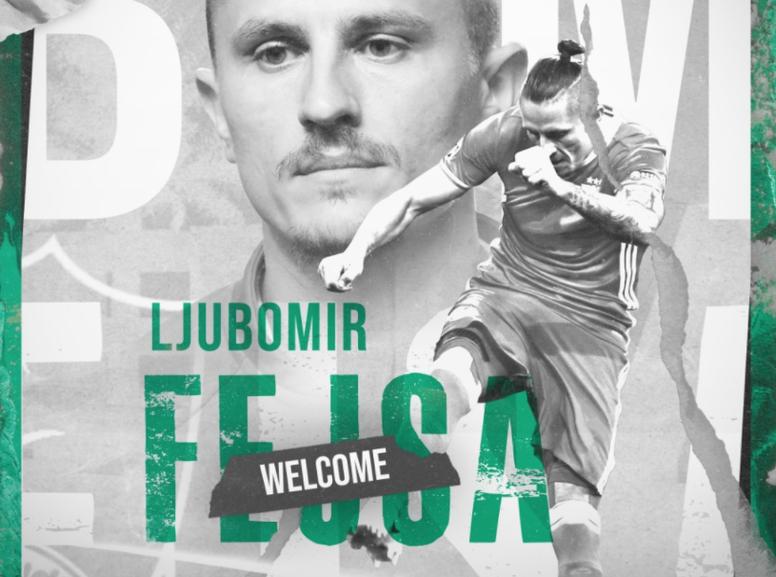 Fejsa jugó la temporada anterior en el Alavés. Twitter/ALAHLI_FC