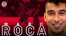Marc Roca é reforço para o gigante da Baviera. Twitter/FCBayern