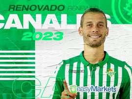 Le Betis prolonge Canales jusqu'en 2023. Twitter/RealBetis