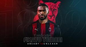 Fikayo Tomori, novidade para a defesa do Milan. ACMilan