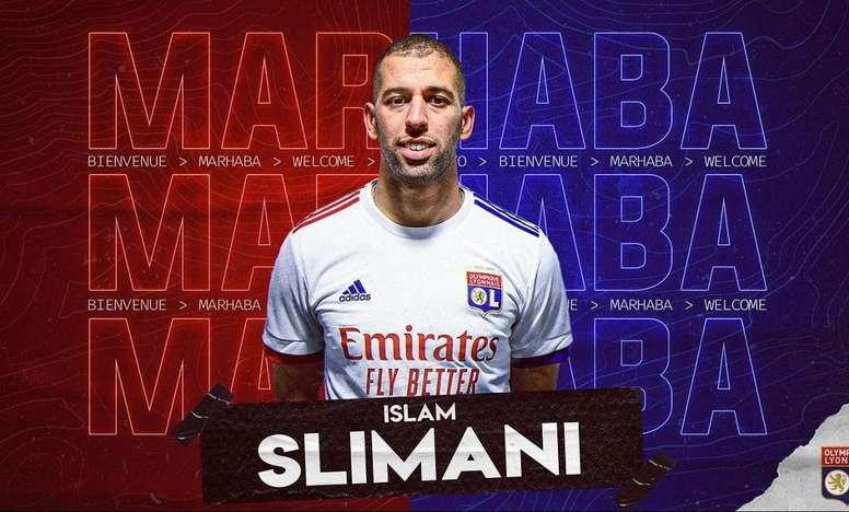 Slimani firma con el Lyon hasta 2022. OL