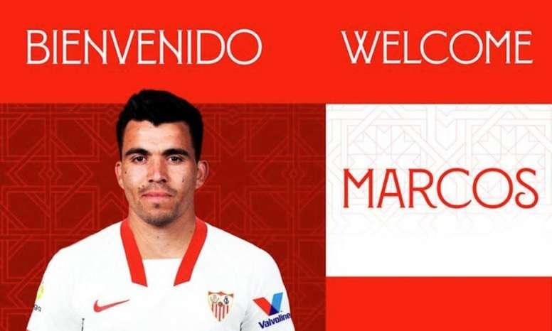 Acuña firma con el Sevilla hasta 2024. SevillaFC
