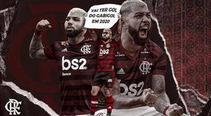 Gabigol anunciou que permanecerá no Flamengo. Flamengo