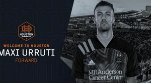 Urruti has joined Houston Dynamo for the 2021 MLS season. HoustonDynamoFC