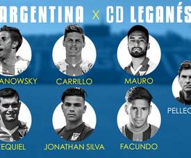 El Leganés, el equipo con más argentinos. BeSoccer
