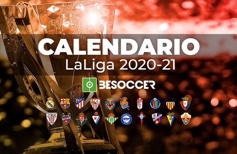 Le calendrier de la Liga pour la saison 2020 21   BeSoccer
