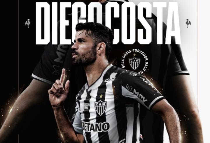 OFFICIEL : Diego Costa rejoint l'Atlético Mineiro. Twitter/Atletico