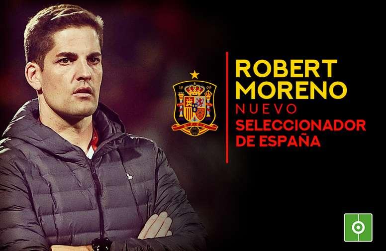 Luis Enrique deja de ser seleccionador de España y le suple Robert Moreno. AFP