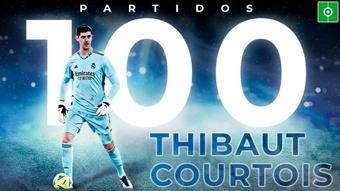 Courtois, 100 partidos de Liga en el Madrid. BeSoccer