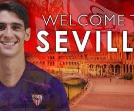 Séville et Gérone confirment le prêt de Bono. Twitter/SevillaFC