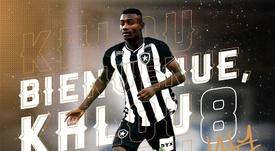 Salomon Kalou rebondit au Brésil. Twitter/Botafogo