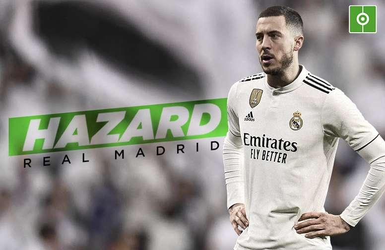 Transferts du Real Madrid, officielle Hazard