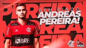 Andreas Pereira, to Flamengo. Flamengo