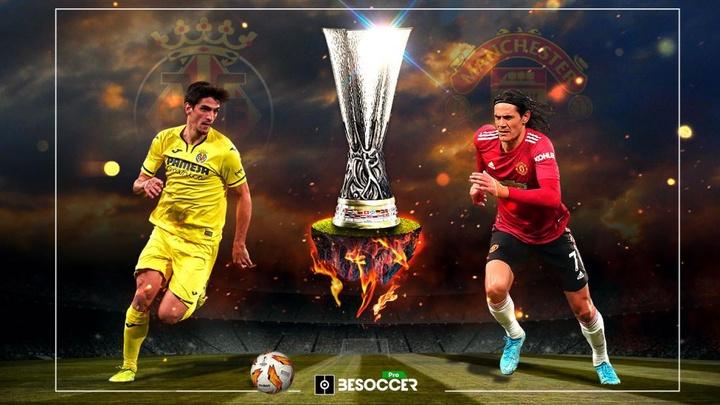 Los delanteros de Villarreal y Manchester, con promedios similares. BeSoccer Pro