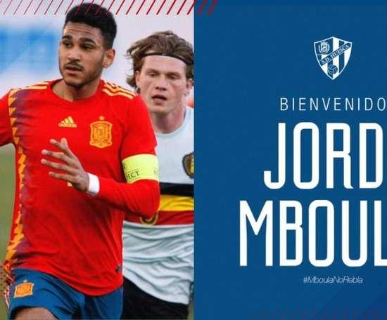 OFFICIEL : Monaco prête Mboula à Huesca. Twitter/SDHuesca