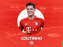 Philippe Coutinho já é do Bayern. BeSoccer
