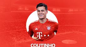 Barca's Coutinho joins Bayern Munich on loan. BeSoccer