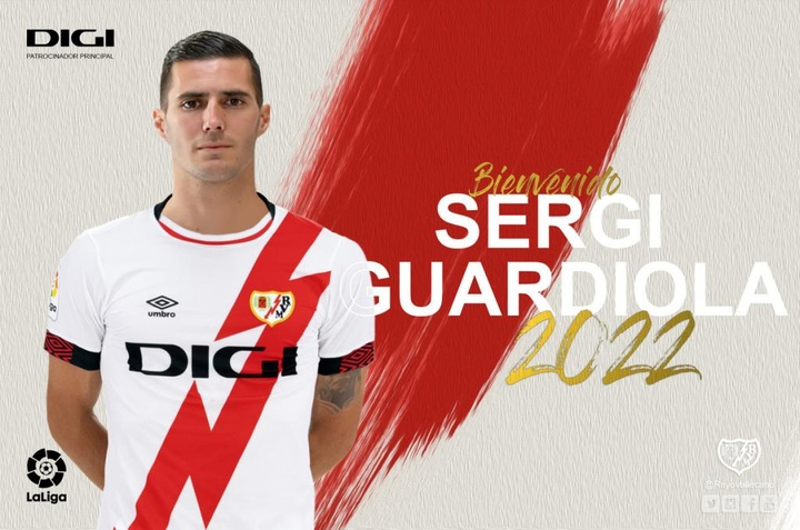 Sergi Guardiola se une al Rayo Vallecano. RayoVallecano