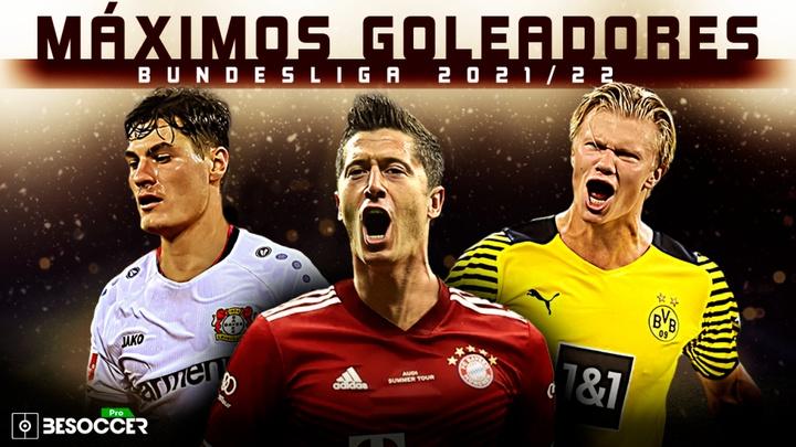 Así va la tabla de goleadores de la Bundesliga 2021-22. BeSoccer Pro