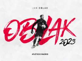 Atlético de Madrid blinda Oblak até 2023. Atleti
