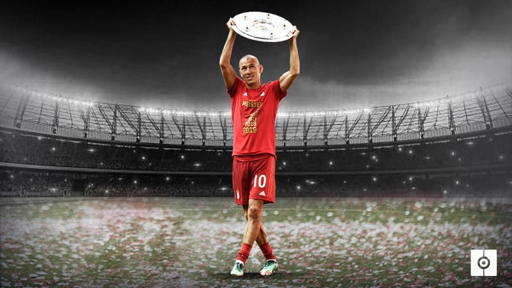 Robben dice adiós al fútbol. BeSoccer