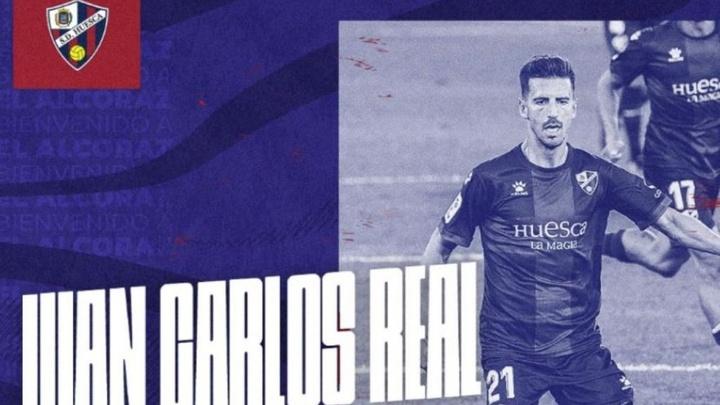 La SD Huesca confirma la llegada de Juan Carlos Real. Twitter/SDHuesca