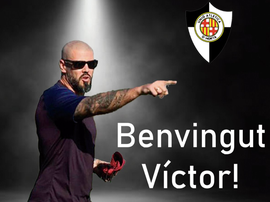 UA Horta anunciou Víctor Valdés como novo técnico. Twitter/UAHorta
