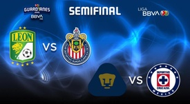 Estas son las semifinales del Apertura 2020 de la Liga MX. Twitter/LIGABBVAMX