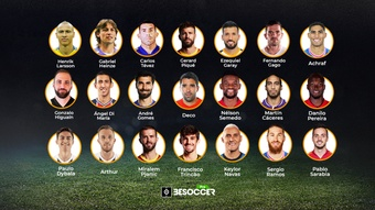 Los 21 futbolistas que han jugado con Cristiano Ronaldo y Messi. BeSoccerPro