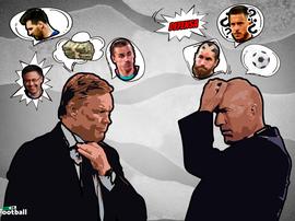 Koeman vs Zidane. ProFootballDB
