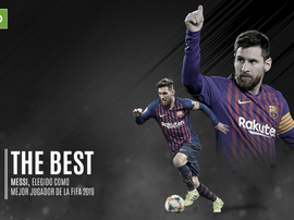 Messi gana el 'The Best'. BeSoccer