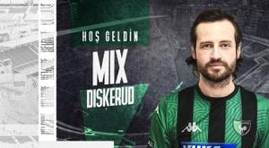 Denizlispor have signed Diskerud on a free. Twitter/Denizlispor