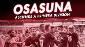 Osasuna asciende a Primera División. BeSoccer