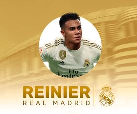 Reinier é o novo jogador do Real Madrid. BeSoccer
