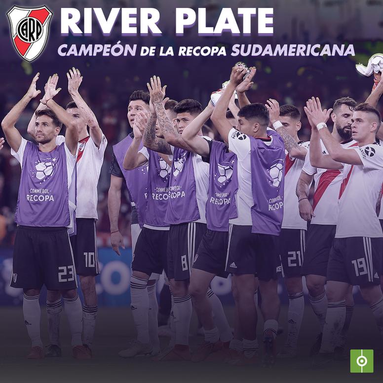 ¡River, campeón de la Recopa Sudamericana 2019! BeSoccer