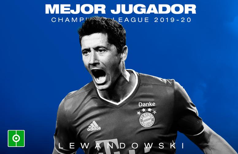 Lewandowski fue el elegido. BeSoccer