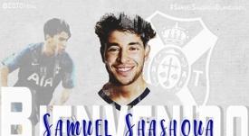 Samuel Shashoua llega al Tenerife. CDTOficial