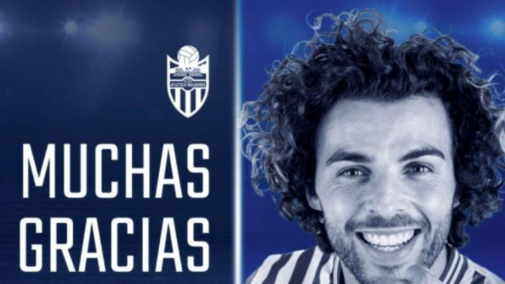 José Peris se marcha del Atlético Baleares. AtleticBalears