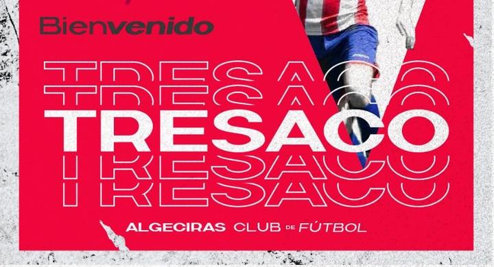 Tresaco firma con el Algeciras. AlgecirasFC