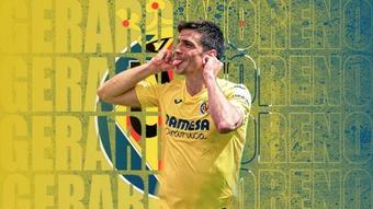 O craque da Villarreal continuará até 2027. VillarrealCF