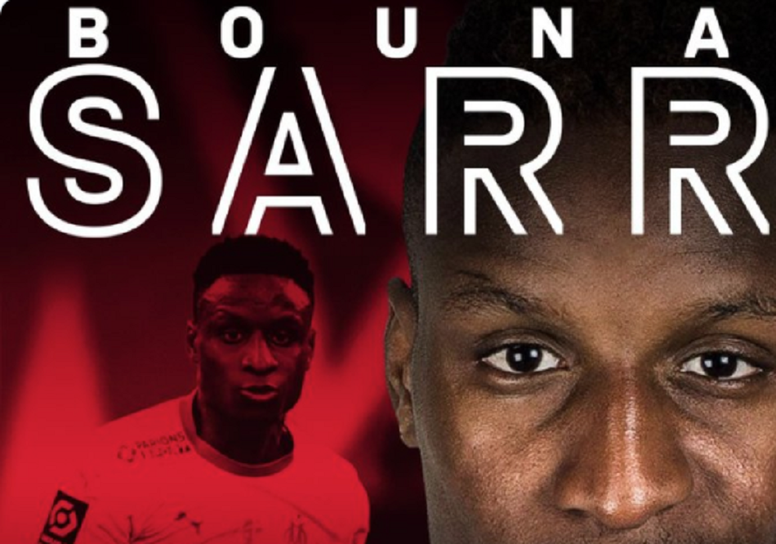 Sarr signed for Bayern in the last moments of the German market. Screenshot/FCBayern